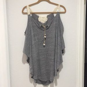 Lucky Brand / swim coverup / one size fits most